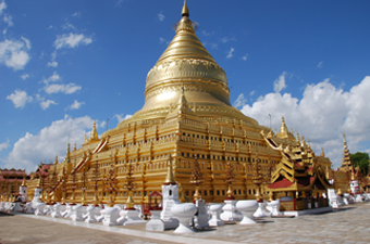 IP MYANMAR Golden stupa