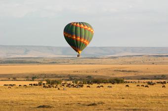Ballooning Masai Mara