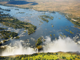 Victoria Falls sheet